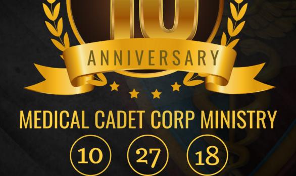 MEDICAL CADET 10TH ANNIVERSARY