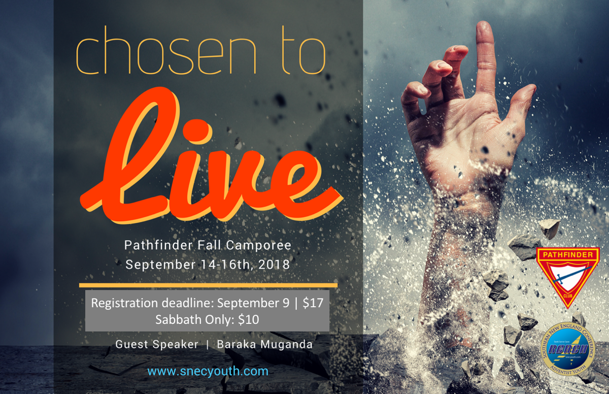 Pathfinder Fall Camporee Chosen to Live